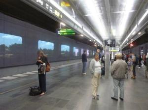 Zugfahrt nach Göteborg
