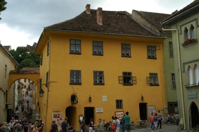 Draculas Geburtshaus in Schässburg (Sighisoara)