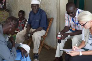 Interview with Leprosy patients, South Sudan.