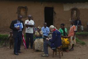 Village life, South West Uganda.