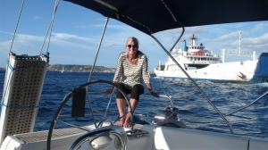 Sailing, Sardinia.