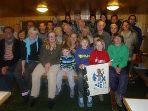 Family meeting in Switzerland.