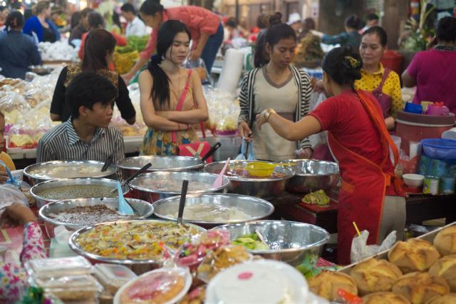 Market, Siem Reap