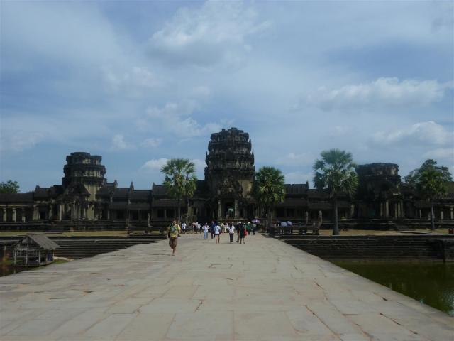 Temple city: Angkor Wat