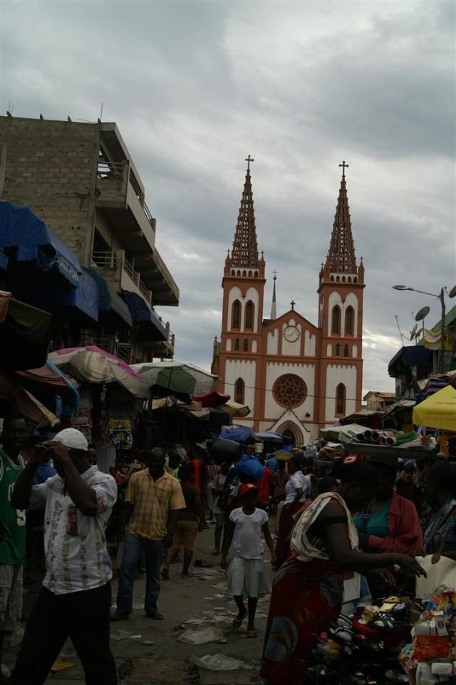 Die Kathedrale von Lomé.