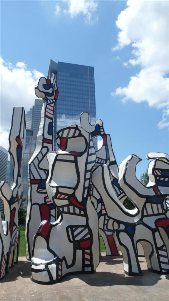 """Monument au Fantome"" by Jean Dubuffet."