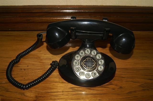 Telefon im Menger-Hotel