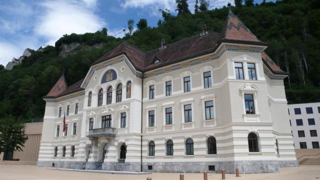 Regierungsgebäude in Vaduz