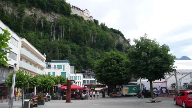 Stadtzentrum Vaduz