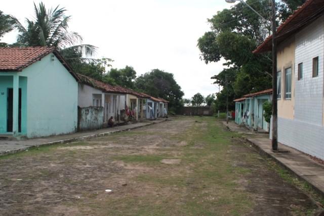 Eine Straße in Bom Fim.