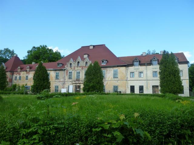 Schloss Steinort heute.
