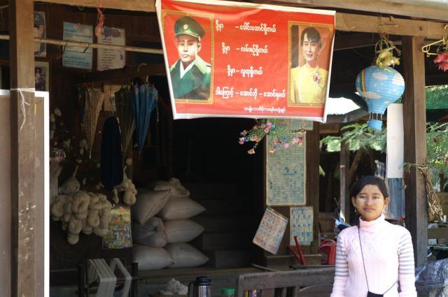 Die 21-jährige Nyo Nyo hofft auf Aung San Suu Kyi als neue Präsidentin.