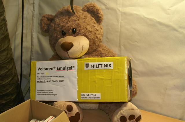 Ein Teddy kann immer weiterhelfen!