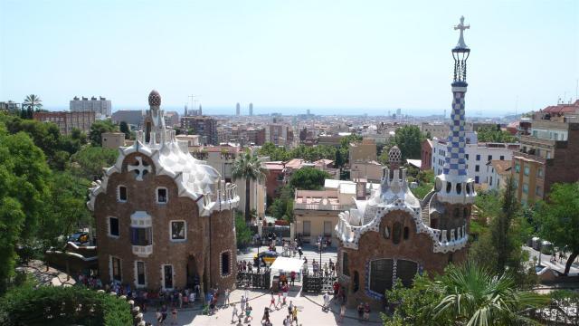 In Barcelona.