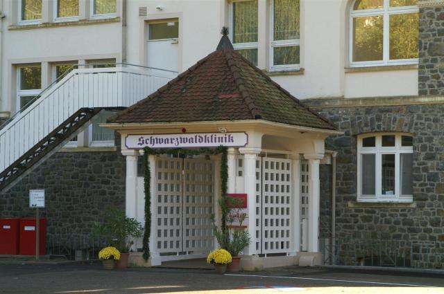 Die Schwarzwaldklinik im Glottertal.