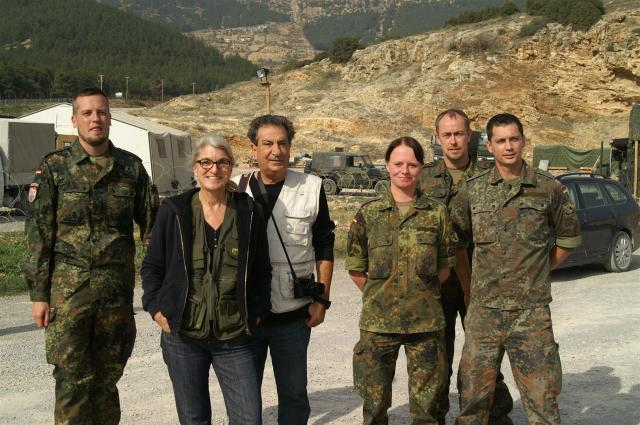 Active Fence Turkey, Kahramanmaraş. Patriot-Raketenabwehrsystem der Bundewehr./Visiting in Kahramanmaraş the Patriot missiles batteries of the Nato.