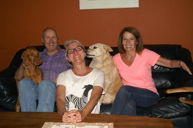 Neue Freunde in San Antonio/Texas./Meeting new friends in San Antonio/Texas.