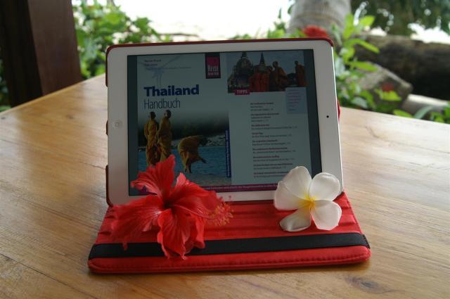 Leicht und kompakt auf dem iPad: 964 Seiten Thailand.