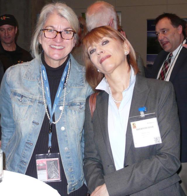Mit Reisejournalistin Cornelia Lohs.
