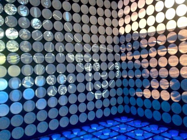 Ausstellung im spanischen Pavillon.