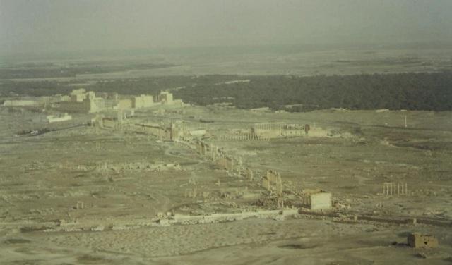 Weltkulturerbe Palmyra.