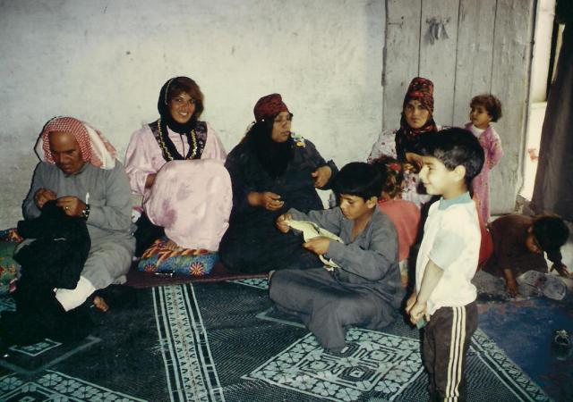 Einladung zum Tee bei einer Beduinen-Familie.