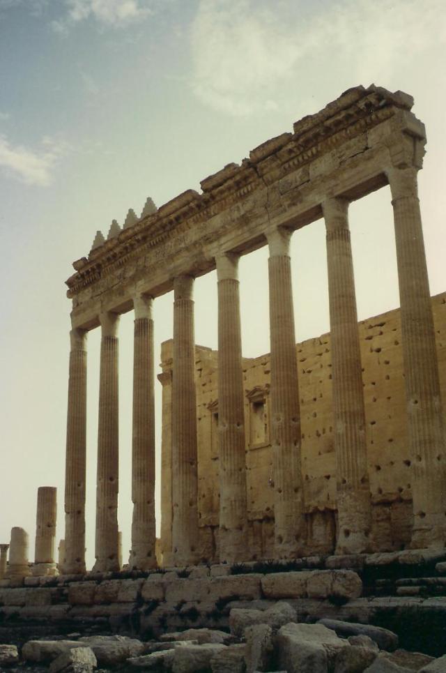 Zur Zeit der Römer galt Palmyra als bedeutende Handelsstadt.