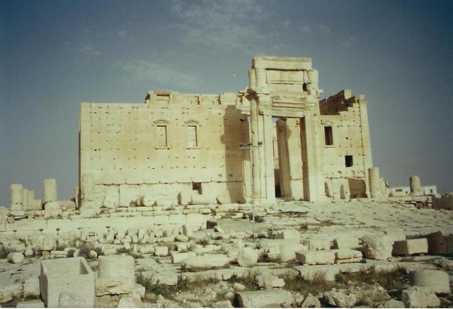 Der Baal-Tempel.