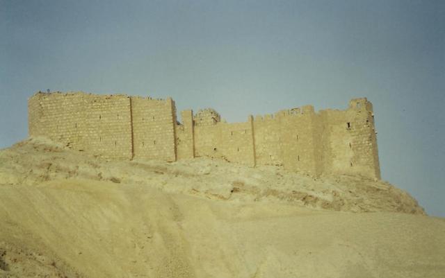 Eine arabische Burg.
