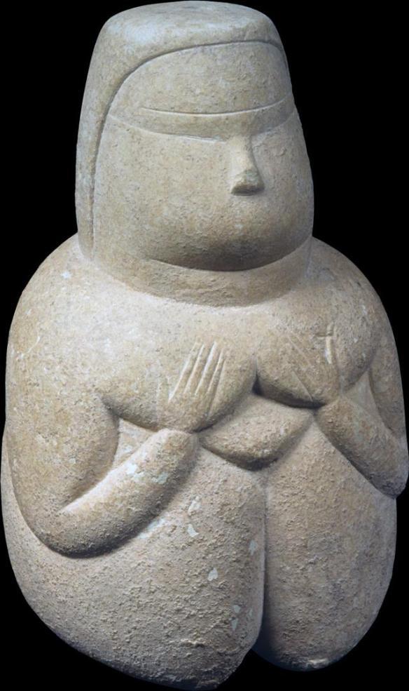 Dea Madre, IV BC, Museo Archeologico Nazionale di Cagliari.