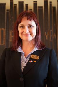"""Lenka Whyles von der """"Scotch Whisky Experience""""."""