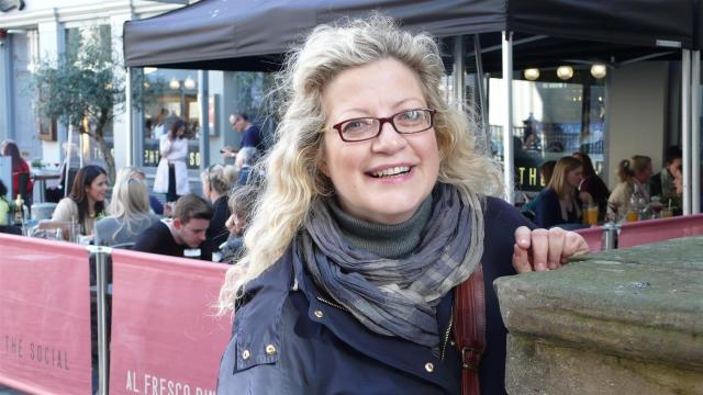 Mariella Michelon steht auf Mittelalter.