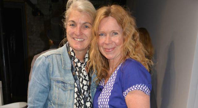 Marion Kracht traf ich auf der Ethical Fashion Show in Berlin.