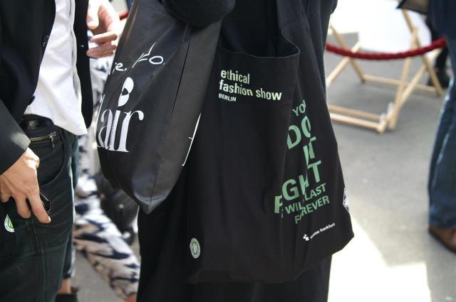 Die Goodie-Bag der Ethical Fashion Show!