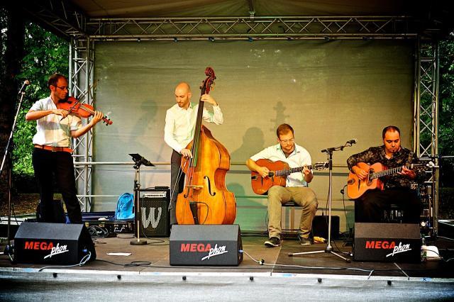 """Band Rehan Syed: """"Von Django bis Tango""""."""