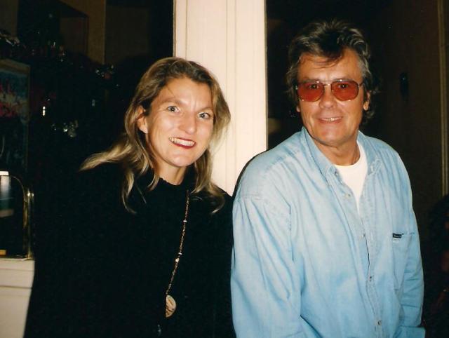 Ich traf Alain Delon Mitte der 1990er Jahre in Paris.