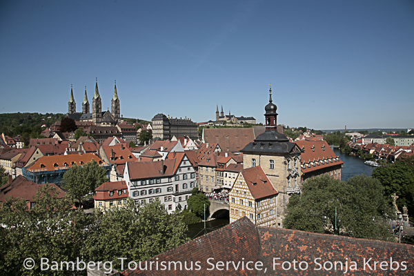Bamberg Altstadtsilhouette (c) BAMBERG Tourismus Service, Foto Sonja  Krebs
