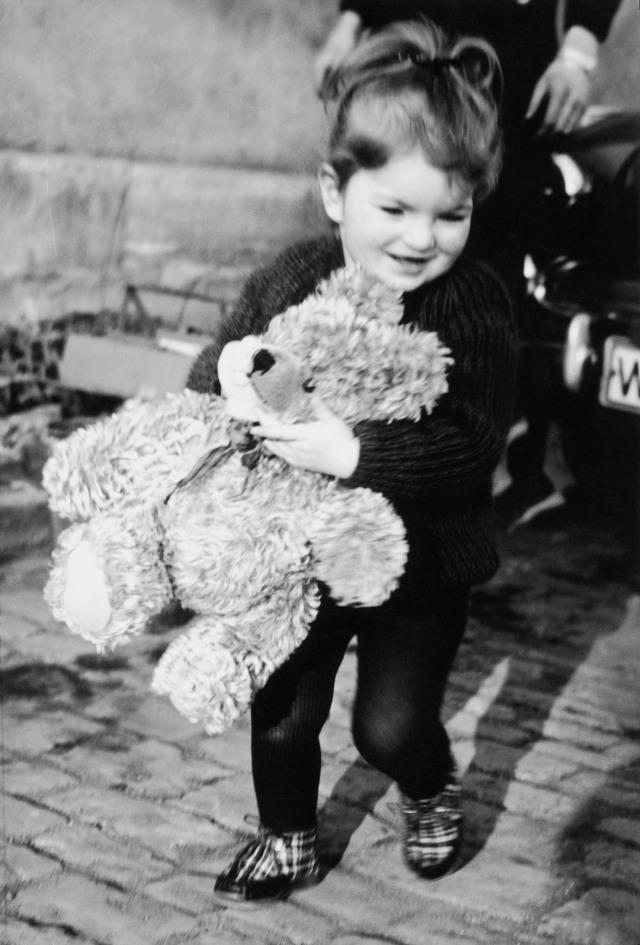 Jedes Kind freut sich über einen Teddy. Das ist meiner und ich habe ihn immer noch!