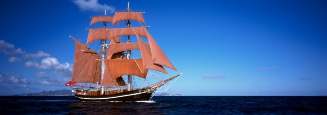 Eye of the Wind Banner by Forum train & sail. Medium Quality 1024 x 362