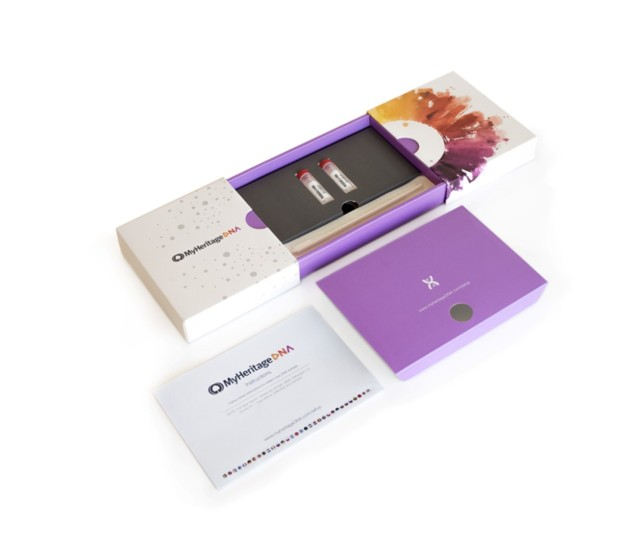 MyHeritage DNA kit - components (Large)