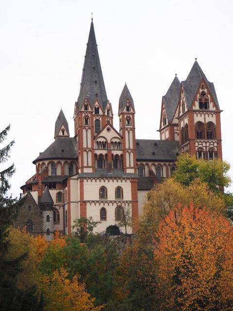 Ansicht Lahn und Dom Limburg
